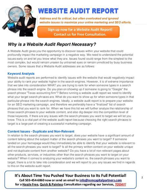 audit report sles audit report sles 28 images website audit report