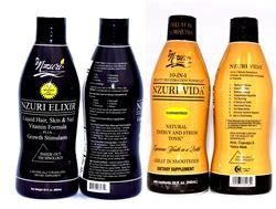 Combo 2 Hair Tonic Sho shop nzuri elixir vida hair vitamin and stress tonic duo