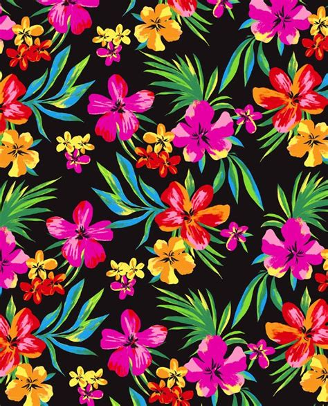 hawaiian pattern iphone wallpaper hawaiian florals marisahopkins com diy crafts