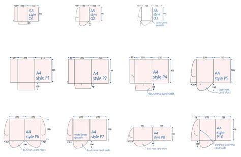 standard folder template folder template downloads printing