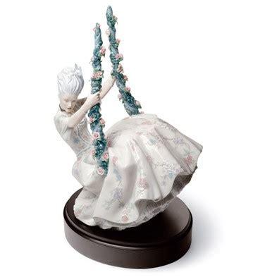 lady on swing lladr 243 porcelain figurines rococo lady on swing