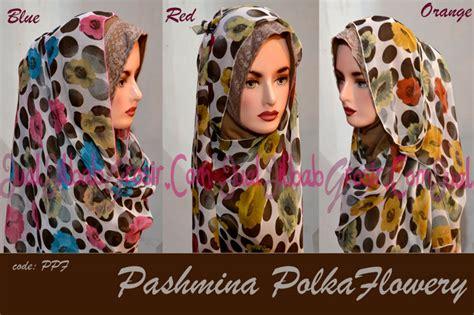 Pashmina Sifon Polka pashmina madeya madeya