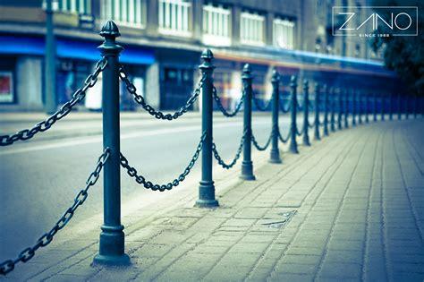 bollard chain outdoor street furniture zano street - Decorative Bollards With Chain