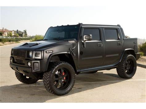 jeep hummer matte black strut hummer h2 matte black