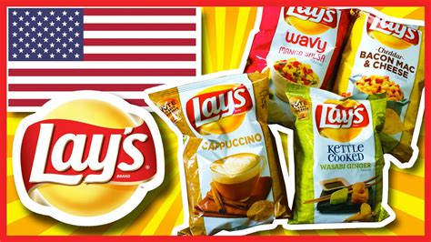 hot chips usa lay s potato chips 4 new flavours usa 2014 youtube