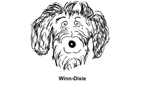 because of winn dixie coloring pages coloring home