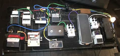 pedal board stevie ray vaughan effects bay