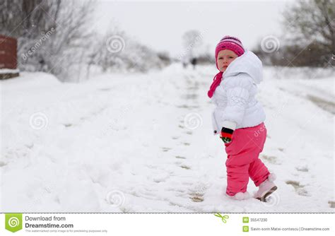 Mother Daughter House Plans baby girl in wintertime stock photo image of daughter