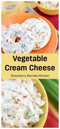 Best Garden Vegetable Cream Cheese Recipe On Pinterest Garden Vegetable Cheese Recipe
