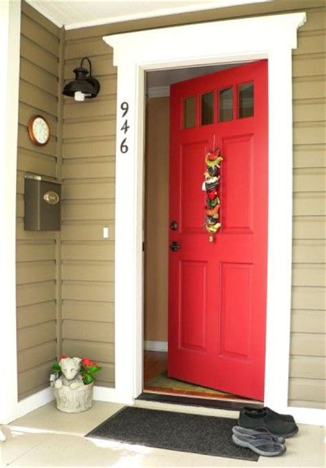 red front doors red front door home sweet home pinterest