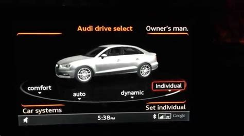 Audi Drive Select A4 by Audi Drive Select Overview For A3 S3