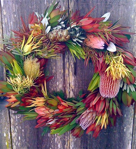 diy australian christmas wreath interiors online