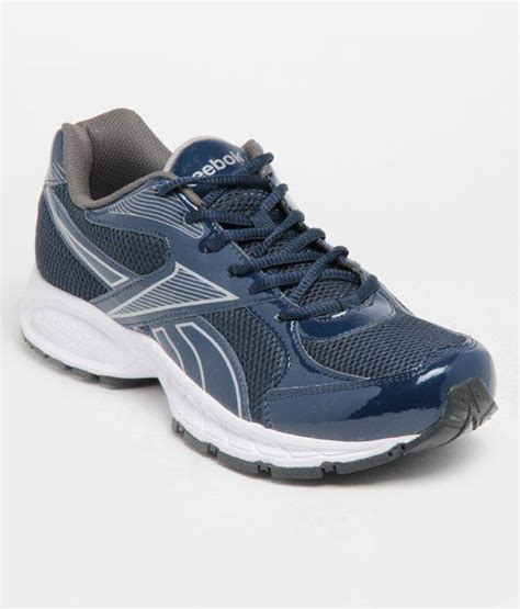 reebok cool white and blue running shoes price in india