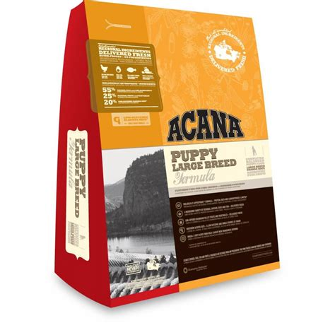 large breed puppy food acana puppy large breed food 13kg feedem