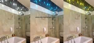 sternenhimmel im badezimmer badezimmer beleuchtung glasfaser kreative ideen f 252 r ihr