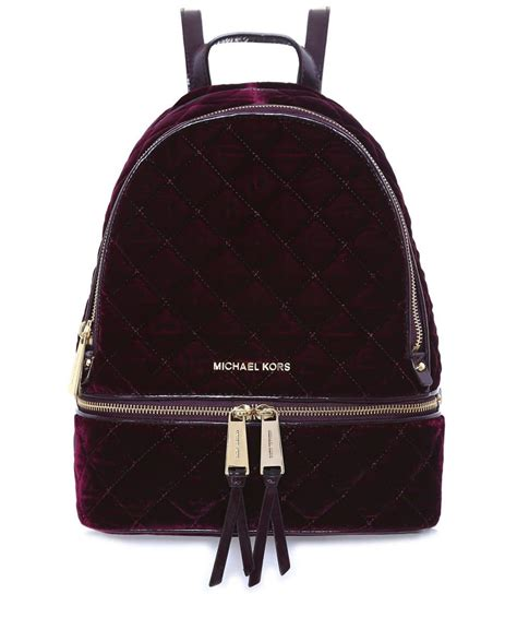 Quilted Backpacks For by Michael Michael Kors Quilted Backpack Lyst