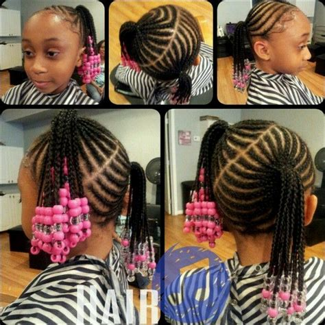hair styles in weave for nine year old kids hair challenges coiffures pour enfants