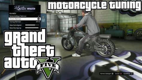 Motorrad Tuning Gta 5 by Gta 5 Gta V Bike Motorcycle Tuning Customization Los