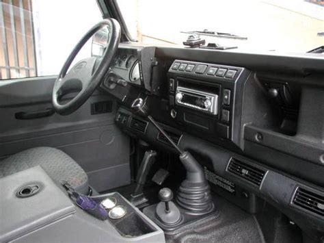 Land Rover Defender Interior Modifications by 081063 2002 Land Rover Defender 90 Specs Photos