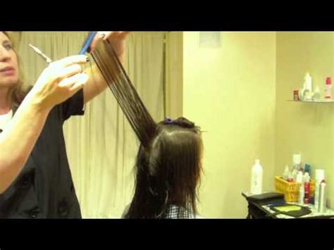how to stack hair step by step layered graduated bob hair tutorial stacked bob razor