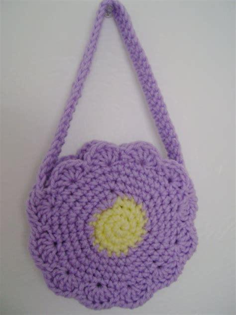 small childs purse crochet crochet bags clutch