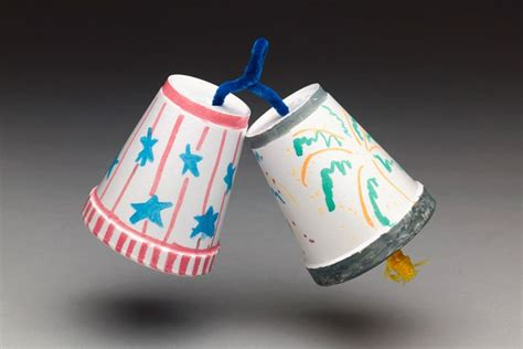 independence day crafts independence day bells craft crayola