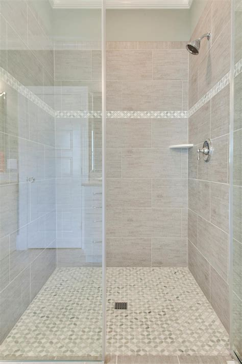 accent tile in shower photo page hgtv