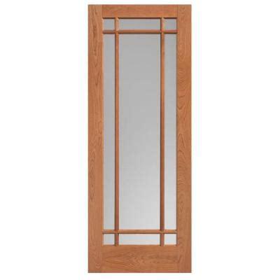 84 lumber interior doors masonite 40 in x 84 in prairie cherry veneer 9 lite