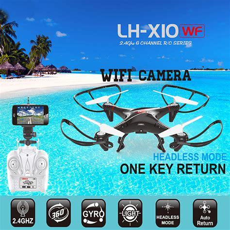 Drone Lh X10wf lead honor lh x10wf fpv drone rc quadcopter hd wifi 2mp gyro 2 4ghz new