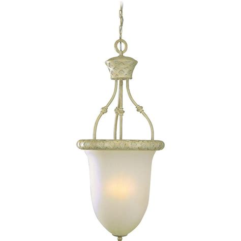 Coral Pendant Light Volume Lighting Alexandria Collection 4 Light Golden Coral Pendant V3414 71 The Home Depot