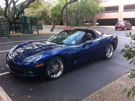 how to sell used cars 2006 chevrolet corvette auto manual buy used selling a one of a kind 2006 chevy corvette z51 6speed with the rare lemans blue in