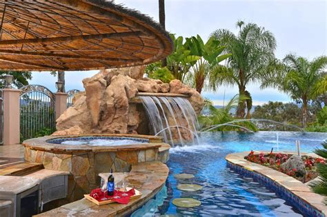 tour a deluxe resort style pool in la mesa calif
