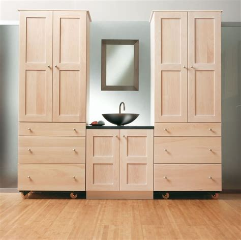 wood bathroom storage bathroom modular unfinished wood bathroom storage cabinet