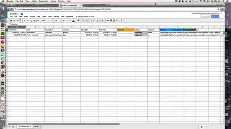 tutorial merging spreadsheet entries onto a google
