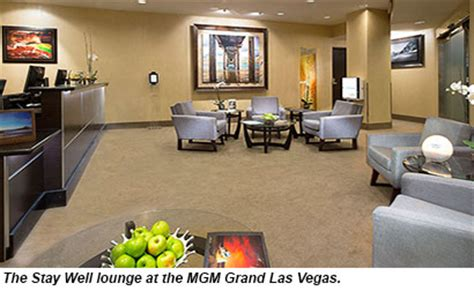 mgm wellness room mgm grand completes wellness project travel weekly