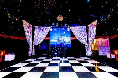 Disney Themed Floor - disney themed birthday mirage planners