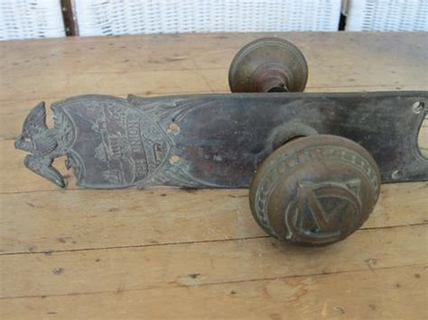 Union Door Knobs by Door Knobs Civil War Strike Plate The Union Yale Town