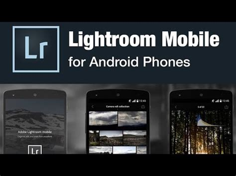 Lightroom Mobile Android Tutorial | how to black and white adobe lightroom mobile youtube