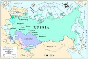 russia map before soviet union whprojectdpss russian revolution