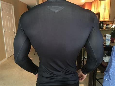 Pria Olahraga Ufc Black baju olahraga ketat pria crossfit mma compression shirt sleeve size m black black