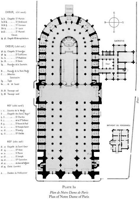 notre dame paris floor plan notre dame cathedral paris floor plan meze blog