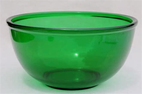 large bowls vintage forest green glass mixing bowl large anchor hocking kitchen glass bowl