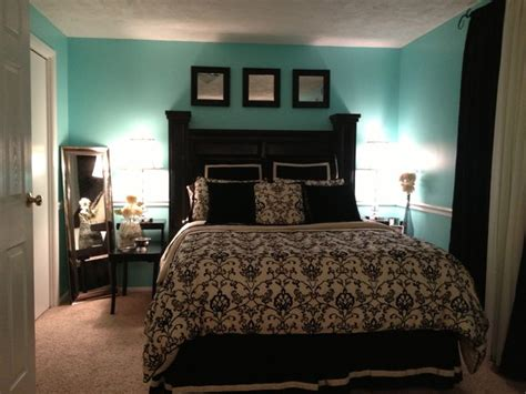 tiffany bedroom black white and tiffany blue bedroom yes please
