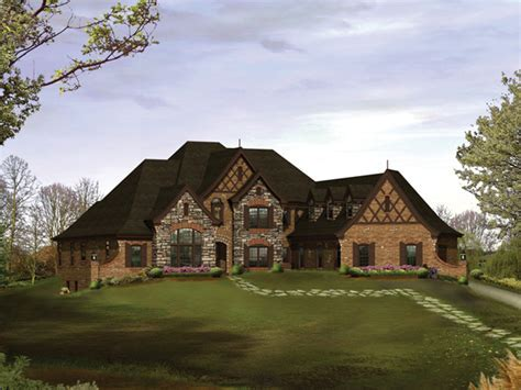 Westershire Place Luxury Home Plan 007D 0202   House Plans