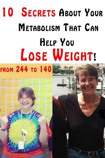 10 Ways Your Can Help You Lose Weight by We It 10 Secrets About Your Metabolism That Can