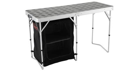 Coleman 2 In 1 C Table Storage