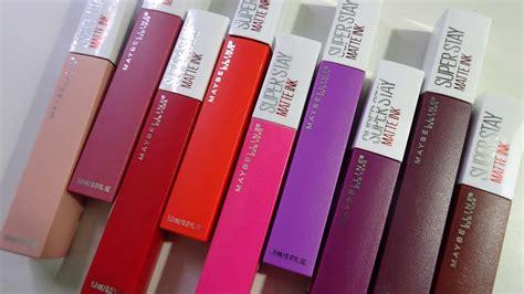 Maybelline Intimate new maybelline stay matte ink liquid lipsticks