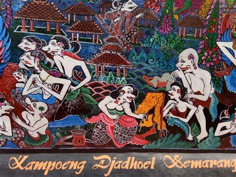 gagasan  contoh lukisan tema indahnya kebersamaan
