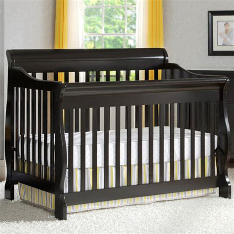 Delta Canton 4 In 1 Convertible Crib Your Choice Of Black 4 In 1 Convertible Crib