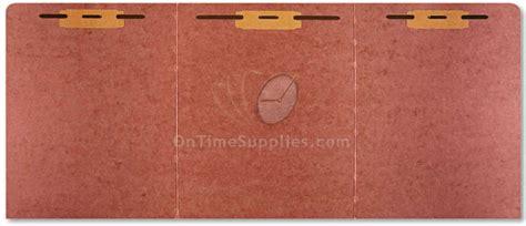 Tri Fold Paper Folder - nsn4840001 tri fold folder by abilityone ontimesupplies